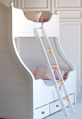 Four Poster and Bunk Beds for Children