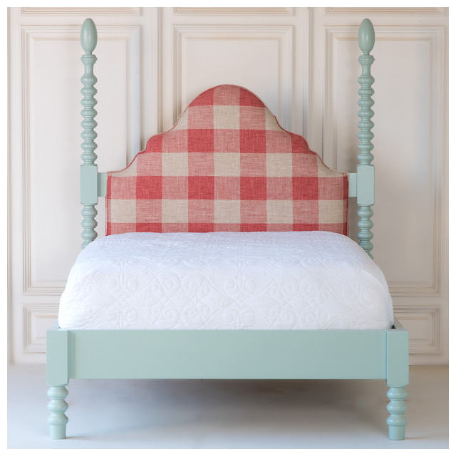 Upholstered Spindle Bed