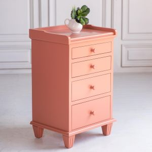 Simply Swedish Four Drawer Night Stand